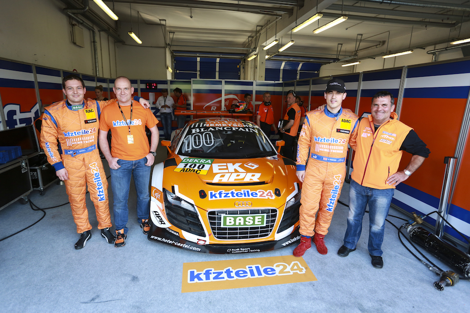 adac gt masters platz vier einstand nach ma f r kfzteile24 apr motorsport kfzteile24 apr. Black Bedroom Furniture Sets. Home Design Ideas